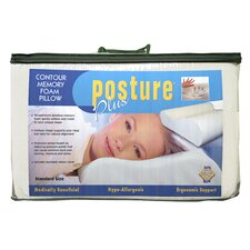 <strong>Eco-Lux</strong> Posture Plus Contour Pillow (Set of 2)