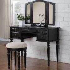 Bobkona Vanity Set with Mirror