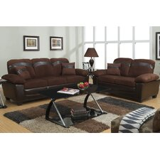 Bobkona 2 Piece Storage Sofa Set