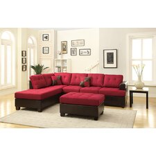 Bobkona Winden Reversible Sectional