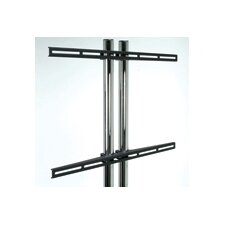 "<strong>Premier Mounts</strong> Universal Flat Mount(Mounts on Dual Pole Stands) (37"" - 61"" Screens)"