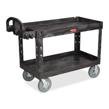 "26"" 2 Shelf Utility Cart"