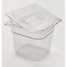 "<strong>Rubbermaid Commercial Products</strong> 6 Space Cold Food Pan (4"" depth)"