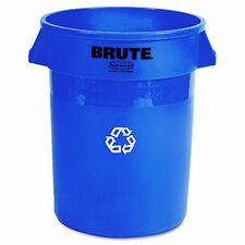 Brute 32 Gallon Curbside Recycling Bin