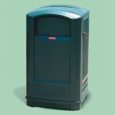 Plaza Waste Receptacle - 50 Gallon