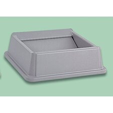 <strong>Rubbermaid Commercial Products</strong> Untouchable Square Top - 35 and 50 gallon