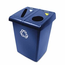 <strong>Rubbermaid Commercial Products</strong> Glutton Recycling Station in Blue