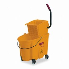 Commercial Wavebrake 26-qt. Side Press Mop Bucket and Wringer Combo