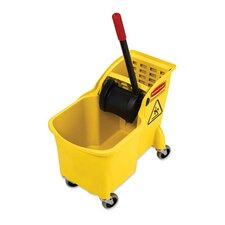 31 Quart Mop Bucket Combination, Yellow