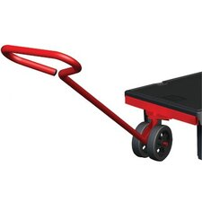 Semi Live Skid Jacks Handle Platform Dolly