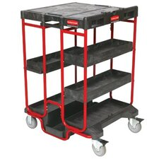 Ladder Carts - black 500lb. capacity ladder cart