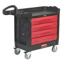 TradeMaster® Professional Contractor Carts - 4 drawer cart