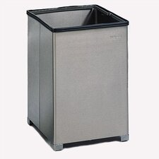 <strong>Rubbermaid Commercial Products</strong> Small Open Top Stainless Steel Receptacle