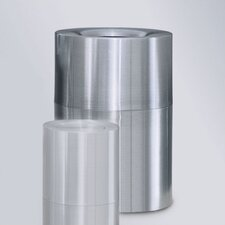 <strong>Rubbermaid Commercial Products</strong> Aluminum Designer Waste Receptacle