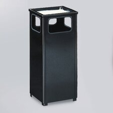 <strong>Rubbermaid Commercial Products</strong> Howard Standard Black Sand Top Ash/Trash Receptacle