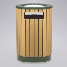 <strong>Rubbermaid Commercial Products</strong> Regent 50 Series 40 Gal. Round Sand Top Ash/Trash Receptacle
