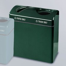 Barclay Large 46 Gallon Multi Compartment Recycling Bin