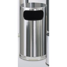 Metallic Designer 12 Gal. Waste Receptacle