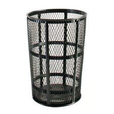 <strong>Rubbermaid Commercial Products</strong> Americana Powder Coated Street Basket