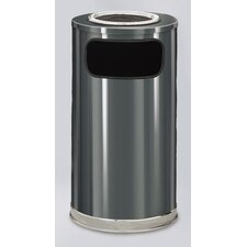 <strong>Rubbermaid Commercial Products</strong> European Designer 12 Gal.  Sand Top Ash/Trash Receptacle