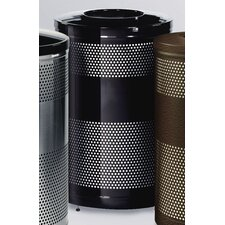 Howard Classics 51 Gal. Open Top Waste Receptacle