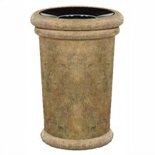 Milan Small 37 Gallon Open Top Receptacle