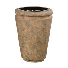 0Milan 21 Gallon Tapered Open Top Receptacle
