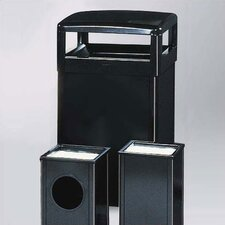 Howard Standard Black Small Hinged Top Receptacle