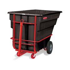 Plastic Rotomolded Tilt Truck in Black