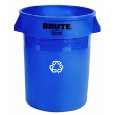 <strong>Rubbermaid Commercial Products</strong> Brute Recycling Container in Blue
