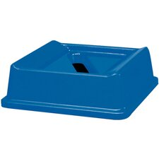 Untouchable Slotted Recycling Top in Blue