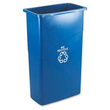<strong>Rubbermaid Commercial Products</strong> Slim Jim Recycling with Handle in Blue