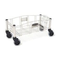 <strong>Rubbermaid Commercial Products</strong> Slim Jim Stainless Steel Dolly