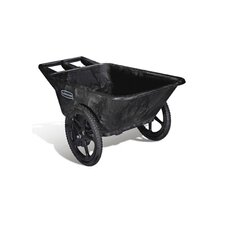 Big Wheel Agriculture Cart in Black