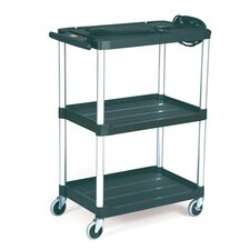 Media Master AV Cart with 2-Shelf