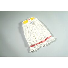 Small Web Foot Wet Mop Head in White