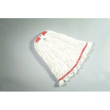 "0.65"" Large Web Foot Wet Mop Head in White"