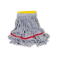 Small Swinger Loop Wet Cotton/Synthetic Mop Heads in Blue