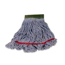 Swinger Loop Wet Cotton/Synthetic Mop Heads in Blue