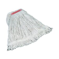 Super Stitch Cotton Mop Heads Large in White
