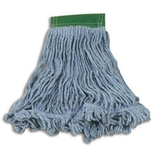 Medium Super Stitch Blend Cotton/Synthetic Mop Heads in Blue