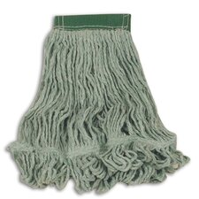 Super Stitch Blend Mop Heads with Headband in Green