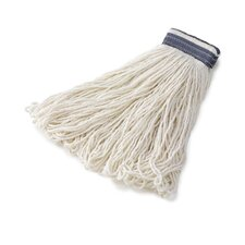 Universal Headband Rayon Mop Heads in White