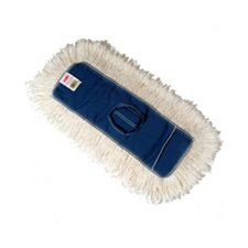 "18"" Dust Cotton Mop Heads in White"