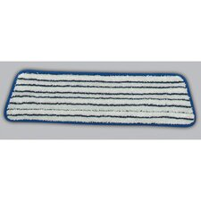 "18"" Microfiber Finish Pad in Blue / White"