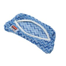 <strong>Rubbermaid Commercial Products</strong> Hygen Flexi Frame Scrubber Microfiber Mop Covers in Blue