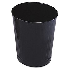 6.5-Gal. Fire-Safe Steel Wastebasket (Set of 6)