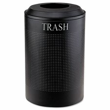 26 Gallon Silhouette Waste Round Receptacle