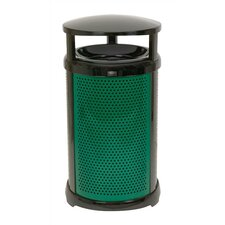 Round Dome Top Waste Container Frame - 32 Gallon