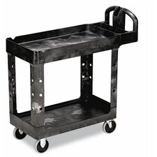 "<strong>Rubbermaid Commercial Products</strong> Heavy-Duty Utility Cart, 17-7/8"" Wide"